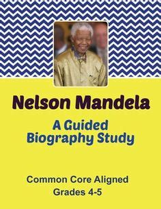 Nelson mandela thesis statement